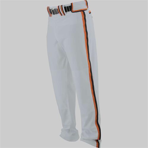 Worth Titan Pants Gray With Texas Orange Black Piping